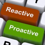 Reactive and proactive marketing